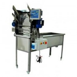 Uncapping Table with automatic feeder Heated 1500mm