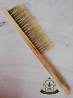 Wood Brush Triple Hair